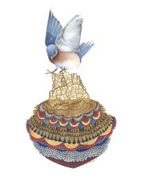 Quilted Bundles: Bird II