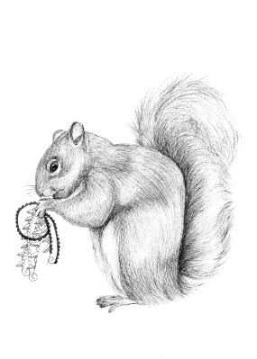 Quilted Critters: The Squirrel