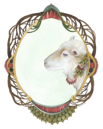 Quilted Forest // Lily the Sheep
