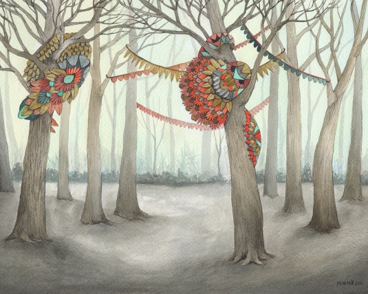 In the Quilted Forest IV