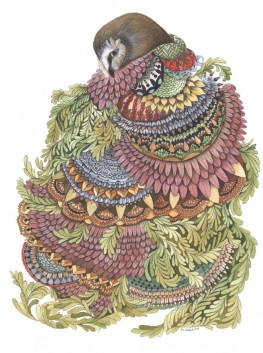 Quilted Forest: The Owl