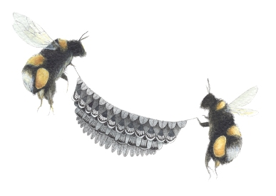 Quilted Helpers: The Bumblebees